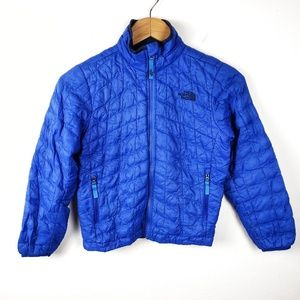 The North Face   Blue Thermoball Puffer Coat Boys